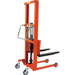 Kozo Lifter Hydraulic Foot Pedal Type, Large Wheel Type