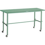 Light Duty Height Adjustable Workbench, with Casters, Uniform Load 80 kg