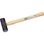 Double-ended hammer (wooden handle)
