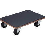 Flat Trolley, Little Cargo, w/ Rubber Flooring and Rubber Casters