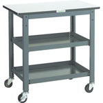 Workbench Auxiliary Tables/Trolleys, Uniform Load 100 kg