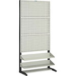 Punching Rack with 2-Level Shelves