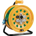 Cord Reel, Single-Phase, with 100 V Breaker, Wire Length (m) 30