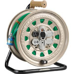 Cord Reel, Single-Phase, 100 V, Wire Length (m) 30