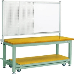 Movable Heavy Work Bench with Front Panel White Board Average Load (kg) 3000