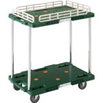 Coupled Resin Trolley, Route Van, w/ Drip Prevention