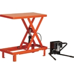 Work Table Lift, Fixed, Pedal Hydraulic Type