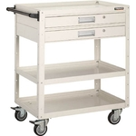 Eagle Wagon (Urethane Casters 4-Wheel Swivel Specification / with Two Tier Drawers)