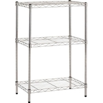 Stainless Steel Wire Mesh Rack (SUS304, Load Capacity/Shelf: 30 kg, Pipe Dia. Φ 19 mm) Additional Shelf