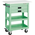 "Tool Wagon ""Dolphin"" (Rubber Caster / Top Board / 2 Drawers Included)"