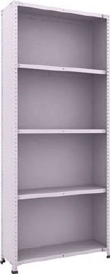 Small to Medium Capacity Shelf Model TLA (Rear and Side Plates Provided, 150 kg Type, Height 2,100 mm)