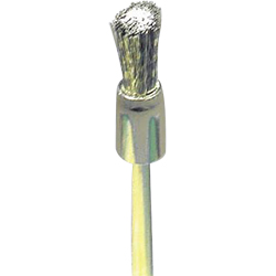Precision Brush / Stainless Steel, End Type