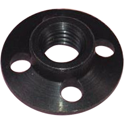 Presser nut taper for disc grinder