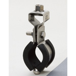 Piping Bracket, Stainless Steel with Vibration Proof Tongue and 3t Rubber
