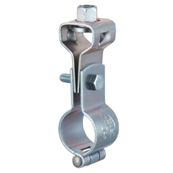 Suspension Pipe Bracket Piping with CL Tongue (Electrogalvanized/Stainless Steel)