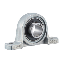 Pillow block unit, Silver Series Cylindrical Bore Shape with Set Screw KP