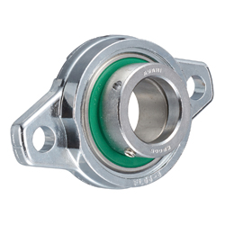 Rhombus Flange Unit, Silver Series, Cylindrical Hole Shape with Eccentric Ring, MUFL