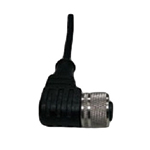 M12 x 1.0 three-pin female connector for the sensor switch lead wire elbow