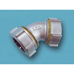 Tube Expansion Type Fitting BK Joint 45° Elbow, for Stainless Steel Pipes