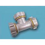 Tube Expansion Fitting for Stainless Steel Pipes, BK Joint, Tee