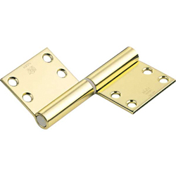 195B, Noiseless Flag Hinge (Engraved Type)