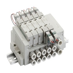 Individual Wiring Block Manifold, MN4GB1, 2R Series Valve Components