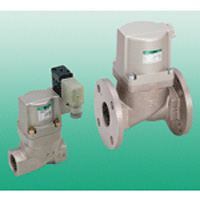 Air operated 2 port valve for low pressure CV(S)E2 0.5-1.0 MPa model