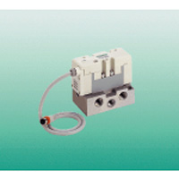 I/O connector type pilot 5-port valve ISO-compliant PV5-6R series