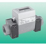 Fluerex Display-Integrated Karman Voltex Type Water Flow Sensor WFK6000 Series