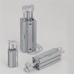 Super Compact Cylinder with Multifunction Guide, SSG Series