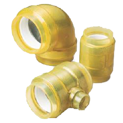 Pre-Seal HB Gold Underground Type (Exterior Transparent Coating for Fire Extinguishing Pipes) Socket