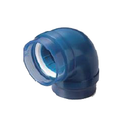 Pre-Sealed Transparent PC Core Fitting, Normal Type Lining Pipe Connection TPC Series Elbow