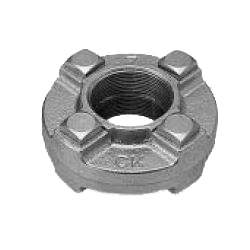CK Fittings - Screw-in Type Malleable Cast Iron Pipe Fitting - Flange Union