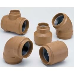 20 K Fittings with Outer Coating for Pressure Piping - Socket