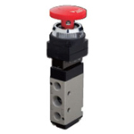 Manual valve VLM25 series interlock button type