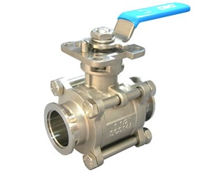 Stainless Steel Valve, NW Flange Ball Valve for Vacuum