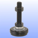 Adjuster with Bottom Section Rubber for Light Vibration Prevention (Thrust Bearing Mounted) WD-AIII/WD-BIII