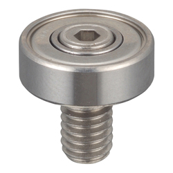 Stainless Steel Ball Bearings with Bolts Hex Groove Type