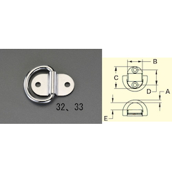 [Stainless Steel] Wall Fitting EA638BT-32