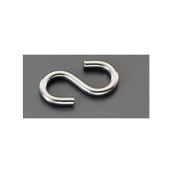 [Stainless Steel] S Hook (5 pcs) EA638EH-1