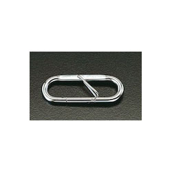 [Stainless Steel] Carabiner with Safety Lock EA638JK-3