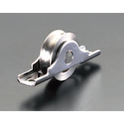[Stainless Steel] Roller [for Round Rail] EA986R-1