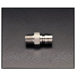 Stainless Steel Male Threaded Plug for Medium Pressure EA140AG-2
