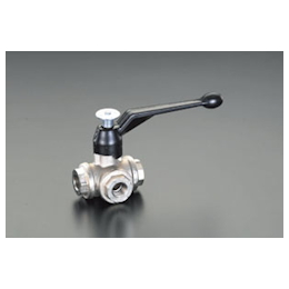 3-Way Ball Valve [Brass] EA470B-2