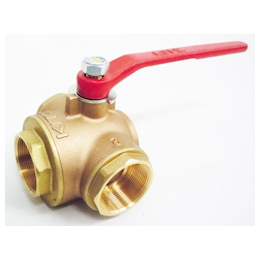 3-Way Ball Valve [Brass] EA470BA-20
