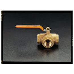 3-Way Ball Valve [Brass] EA470BA-6