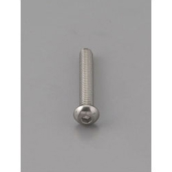 Button Head Bolt with Hexagonal Hole [Stainless Steel] EA949MF-606