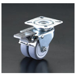 Twin-wheel Swivel Caster (with Brake) EA986GN-2