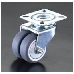 Twin-wheel Swivel Caster EA986GN-75