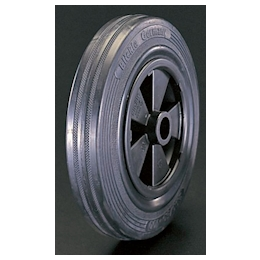 Solid-rubber-tire Polypropylene-rim Wheel EA986MC-180